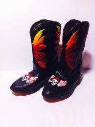 womens designer boots size 12 59 best painted boots and shoes images on