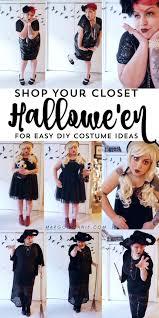 halloweek 3 easy lil black dress diy halloween costumes margot