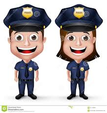police kids on duty stock images image 18659124