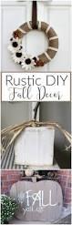 Rustic Fall Decor Rustic Fall Decor Domestically Creative