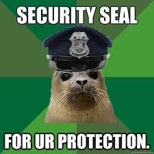 It Security Meme - security seal for ur protection security seal quickmeme