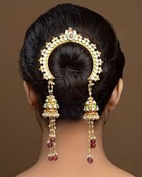 traditional hair accessories best 25 indian wedding hair ideas on indian wedding