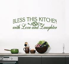 god bless our home wall decor wall decals u0026 stickers for dining room u0026 kitchen sweetums wall