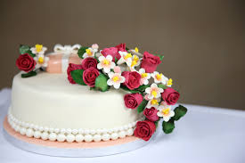 wedding cake flowers free images sweet flower decoration food pink dessert