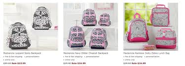 pottery barn black friday sale 2017 pottery barn up to 60 off backpacks u0026 luggage additional 30