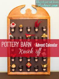 Pottery Barn Mirror Knock Off by Pottery Barn Advent Calendar Knock Off Restoration Redoux