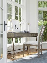 playlist writing desk console with metal base by universal