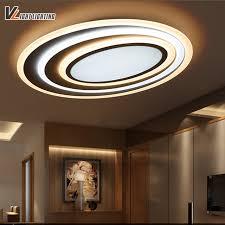 plafonnier design pour chambre led moderne plafonniers avec gradation télécommande pour chambre