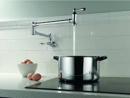 wall mount pot filler kitchen faucet best wall mount pot filler commercial kitchen faucets