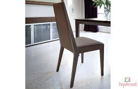 sedie pelle sedia in legno wind