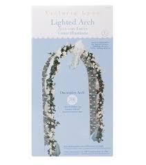 darice white lighted decorative arch joann