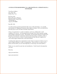 best solutions of cover letter for a online job posting with