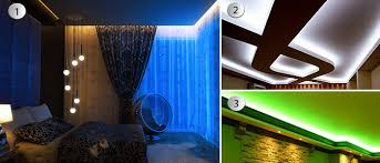 Led Ceiling Strip Lights by Nyceiling Inc Products Installation Of Lighting For Stretch