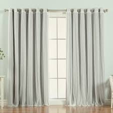 Blackout Curtains Grommet Willa Arlo Interiors Brunilda Solid Blackout Thermal Grommet