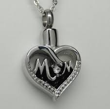 urn necklaces cremation jewelry cremation urn necklace silver heart