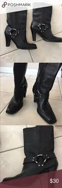s harley boots size 11 black boots dz 7 8 nwt d and black patent leather