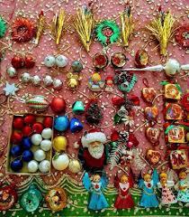 vintage christmas decorations x 107 angels santas snowman baubles