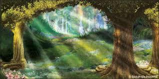 forest backdrop mystic forest backdrop 4 backdrops beautiful