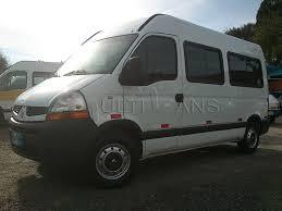 renault master 2011 renault master minibus 2011 branca vans zero km usadas e