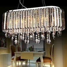 Crystal Light Fixtures Dining Room - elegant rectangular crystal chandelier dining room compare prices