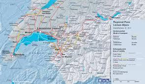 geneva map swisspasses com discounted swiss regional rail passes lake