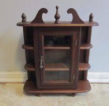 Ornate Display Cabinets Vintage Display Cabinet Ebay
