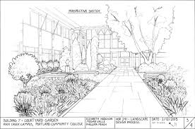 Courtyard Plans by Designing Women Draw Up New Plans For Rock Creek U0027s Building 7
