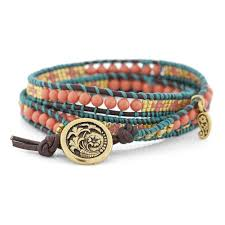 cord bracelet with beads images 1111 best 3 wrap bracelets images leather bracelets jpg