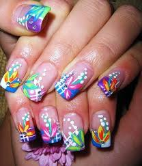 glitter nail designs easy nail designs