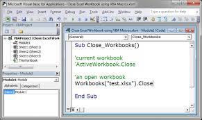 close excel workbook using vba macros teachexcel com