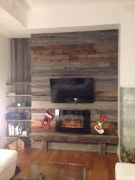 rustic pallet media stand accent backdrop diy wood pallet wall