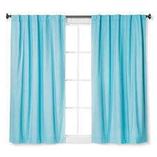 Target Turquoise Curtains by Twill Light Blocking Curtain Panel Turquoise 42