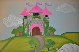 painting and design by celeste the princess mural i haven t completed a horse in a long time but it all came right back to me this is a full sized wall mural that spans the entire wall