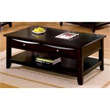 glass top end table with drawer espresso coffee table decorations bianco collection espresso glass top coffee