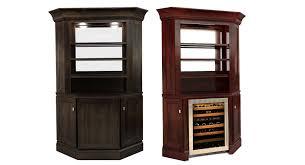Bar Hutch Cabinet Corner Bar California House