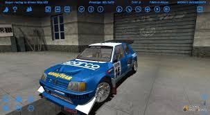 peugeot 205 t16 205 t16 rally for street legal racing redline