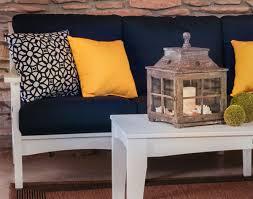 poly lumber 3 piece classic terrace deep seating sofa set w