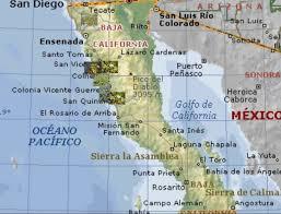 Tijuana Mexico Map Map Tijuana To Ensenada