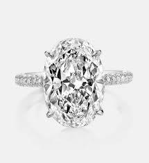 oval cut diamond 5ct oval cut diamond engagement ring mowte