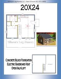 gilmore log homes floor plans 20x24 floor plan