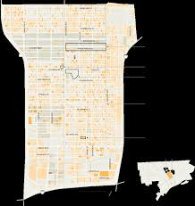 Chicago Shooting Map by Challenges Facing Detroit U0027s North End The New York Times