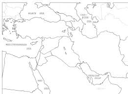 Map Of Middle East Quiz by Syllabus History 348 Unlv