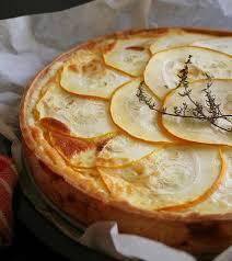 cuisiner courgette jaune recette quiche à la courgette jaune et au parmesan 750g