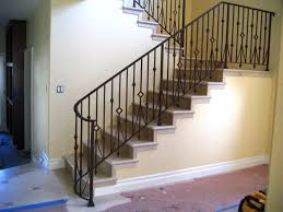 antique wrought iron stair railing the interior of iron stair