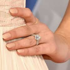 Baseball Wedding Ring by The Best Celebrity Engagement Rings 2015