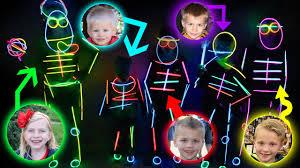 kids glow in the dark costume runway show youtube