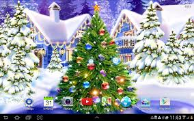 christmas rink live wallpaper android apps on google play