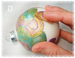 really different way to paint ornaments these are easy