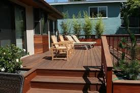Backyard Decks Pictures Deck Size U0026 Height Landscaping Network