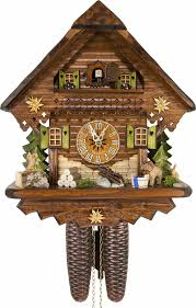 cuckoo clock 8 day movement chalet style 34cm by cuckoo palace 870